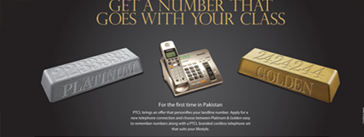 PTCL Premium Platinum and Golden Landline Number