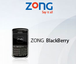 Zong Blackberry Services